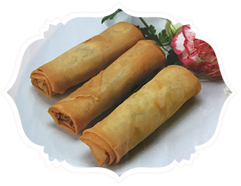 5a. Chicken Curry Spring Roll