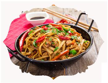 58. Chicken Chow Mein